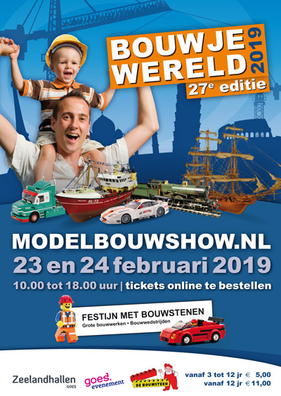 Modelbouwshow @ Zeelandhallen Goes