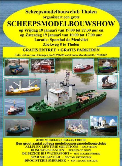 Scheepsmodelbouw Show Tholen @ Sporthal de Meulvliet