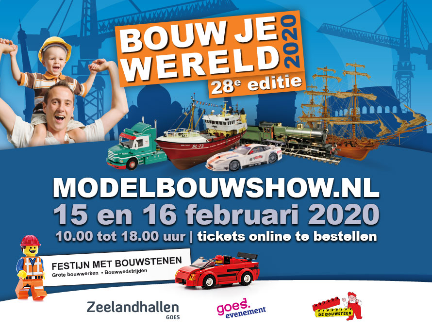 Modelbouwshow 2020, Goes @ Zeelandhallen Goes