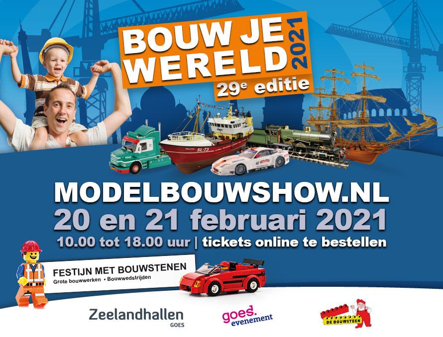 Modelbouwshow 2021, Goes @ Zeelandhallen Goes