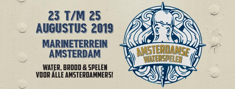 Waterspelen Amsterdam @ Marine terrein Amsterdam